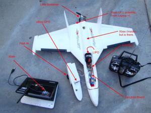 Jedna od brojnih amaterskih bespilotnih letelica (Amater drone DSC04511ar)