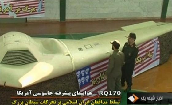 Dron RQ-170 oboren u Iranu