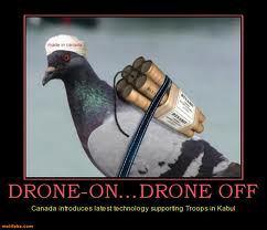 Dron-bomba – parodija na terorističke ambicije