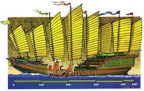 Zheng He vs. Columbus' Santa Maria