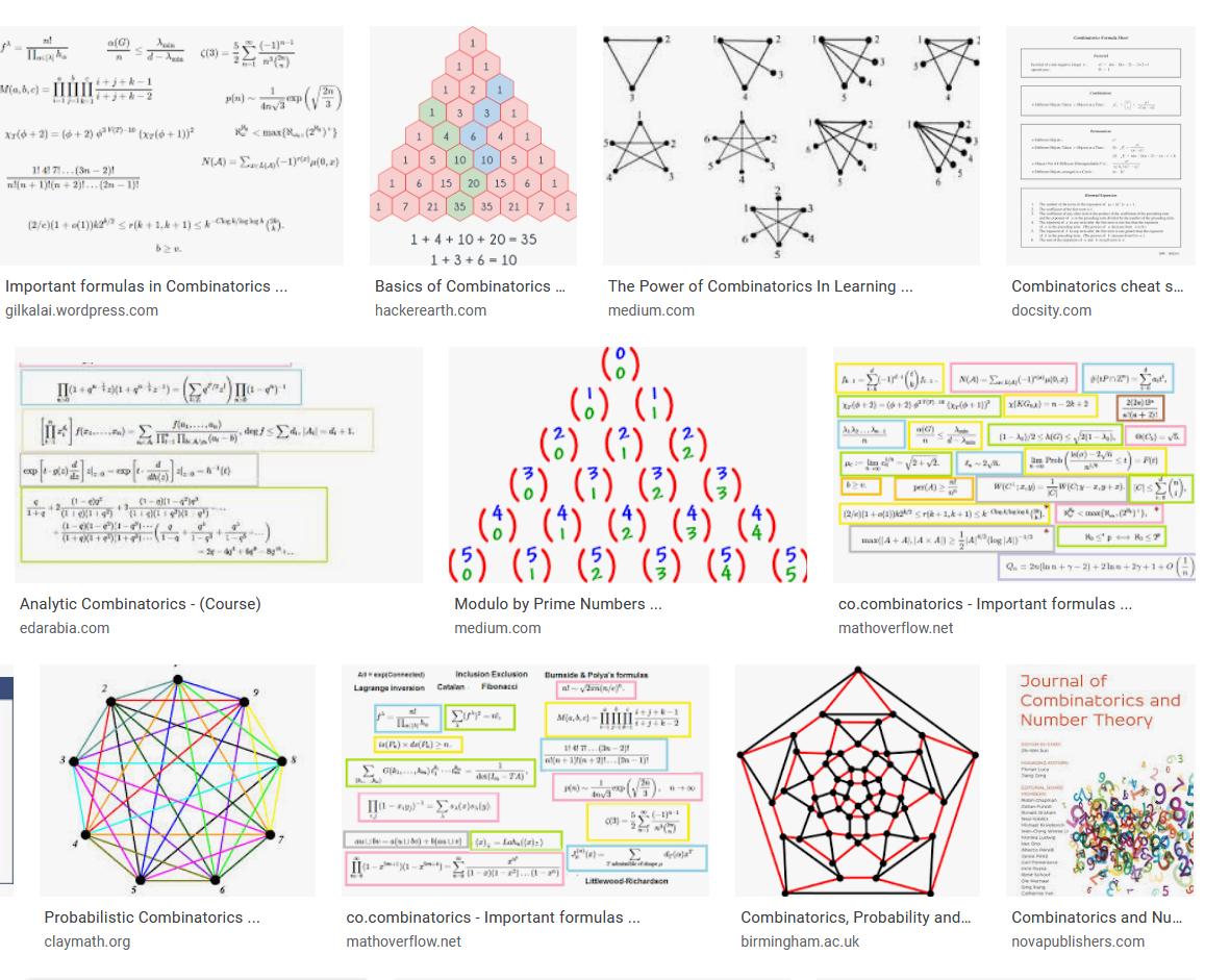 Screenshot_2020-05-21 Combinatorics - Google Search